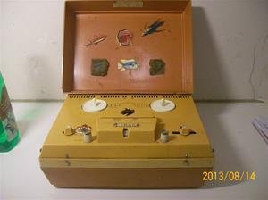 699. Skantic MP 404 S Serie 2. Numer 057947. Rullbandspelare. 101_0297