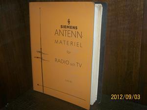 666. Såld. Siemens, antennmaterial för radio/TV. Lista: 62. Tillv.år: Början av 1960-talet. Fotonr: 100_9665