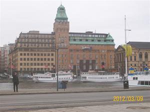 2012 03 09. Hotellet vi bodde på:Radisson Blu Strand.