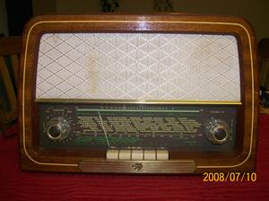 225. Skantic Radio, rörmottagare. Typ: Marianne. Nr: 422907. Fotonr: 100_1397