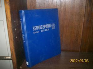 657. Såld. Radiola Silver, servicepärm. Nr: ?. År: ?. Tillv.land: Sverige. Fotonr: 100_9651.
