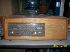 357. Philips, rörmottagare. Typ: B4S 23 A. Nummer: 170 127. Fotonr: 100_4974