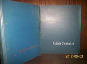 656. Sålda. Radiola, servicebok. År: 1930-40-50-60-tal. Tillv.land: Sverige. Fotonr: 100_9649.
