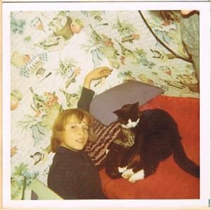 Jag i början på -70 talet, ca 11-12 år.