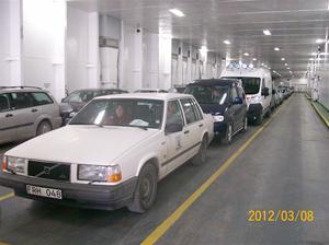 Bilen ombordkörd 2012 03 08.