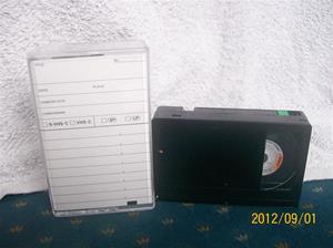 644. Maxell, videoband. Typ: VHS-C. Nr: L132DA24K2EC-45HGB. Fotonr: 100_9620.