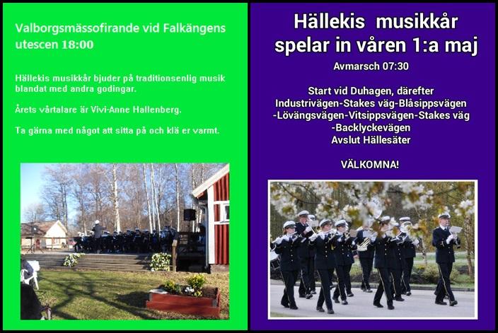 Ny affisch Valborg och Första maj 2016