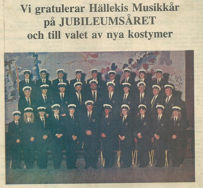 Nya uniformer 1989 Historian