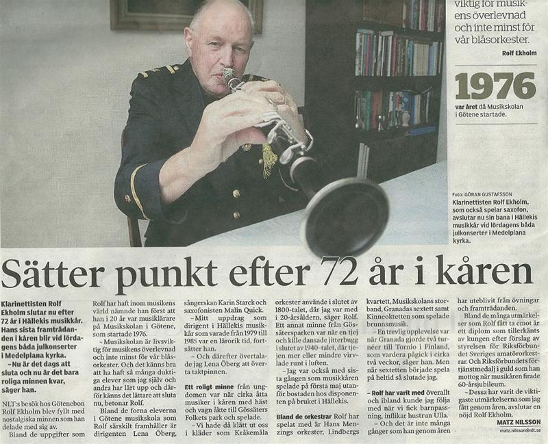 Rolf 72 år i kåren