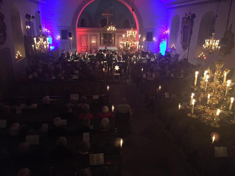 Christina Thörn läktarbild 26 nov konsert 1