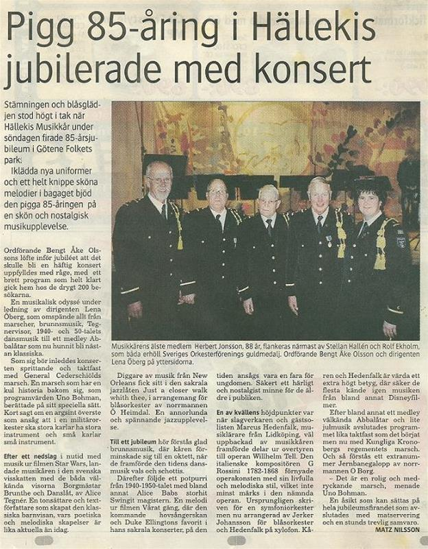 2004 85års jubileum