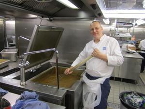 9. ... som Stefan Gustavsson tillagat. Han har jobbat som kock i 27 år..