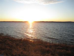 5. Solnedgång över Vättern