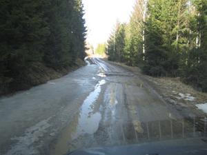 2. Genvägen dit blev en senväg denna fina vårdag...