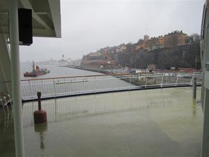 10. Ett dygn senare var vi åter tillbaka i Stockholm. Som bjöd på regn och rusk...