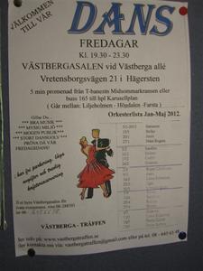 1. Direkt efter Birka for vi direkt till Västberga och lastade in våra prylar.