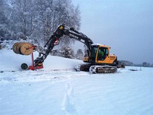 Grävmaskin_snö_Larv