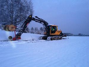 Grävmaskin_snö