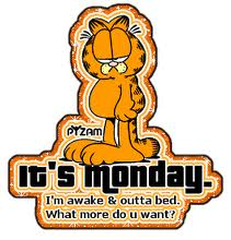 måndag jag är uppe